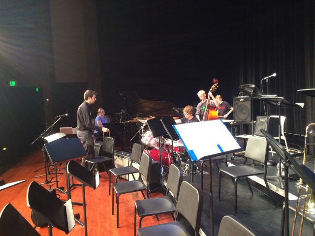 Jazz Collective Rhythm Section working with Mike Conrad